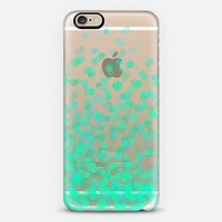 Bright Green Confetti iPhone 6s case by Noonday Design   Casetify
