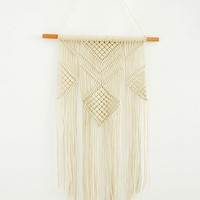 Retro Macramé Wall Hanging | Urban Outfitters