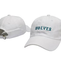I FEEL LIKE PABLO Hat Kanye West Yeezy Yeezus THE LIFE OF PABLO Embroidered Cap White Fitted Trucker WOLVES Sun Hat