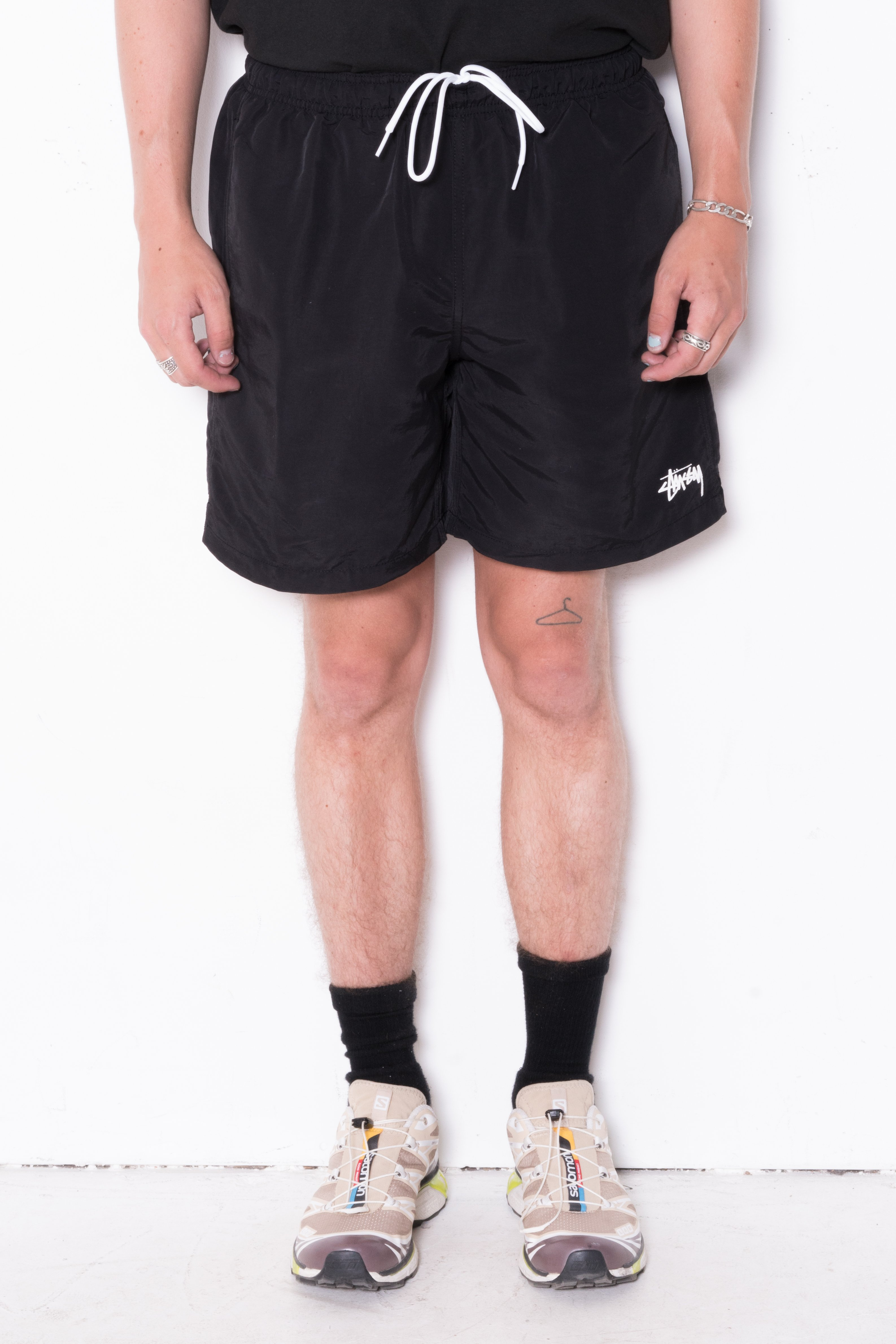 Image of Stussy Stock Water Short In Black