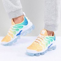 DCCK Nike Air Vapor max Plus Wave Type Leisure Transparent air cushion sole Sneskers Shoes