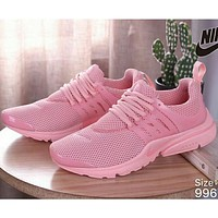 NIKE AIR PRESTO Men's and Women's Wild Sports Running Shoes F Pink