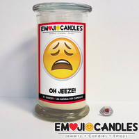 Oh Jeeze! - Emoji Candles