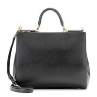 dolce & gabbana - miss sicily leather tote