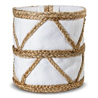 Nate Berkus™ Woven Basket with Canvas Liner