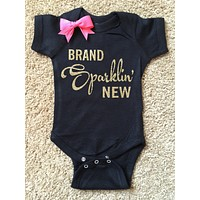 Brand Sparklin' New Onesuit - Mia Grace Designs - Onesuit - Ruffles with Love - Girls Onesuit