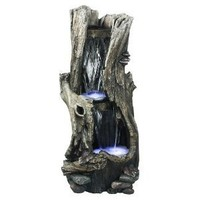Alpine WIN258 Rain Forest Waterfall Fountain with LED Lights, 41-Inch (Discontinued by Manufacturer)