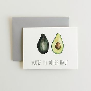 You're My Other Half Greeting Card