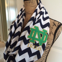 Notre Dame Fighting Irish Infinity Scarf
