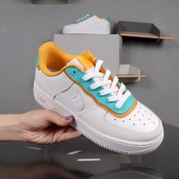 Nike Air Force 1 Low SE White Green Yellow AF1 - Best Deal Online
