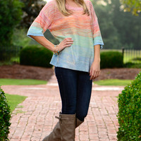 Rainbow Glam Sweater, Multi