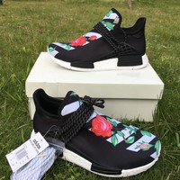 Pharrell × Adidas NMD Human Race Green Rose Size 36-46