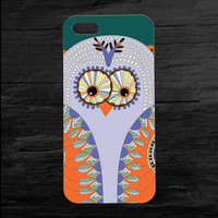 Aztec Owl Colorful Printed iPhone 4 and 5 Case