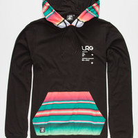 Lrg Los Originales Mens Lightweight Hoodie Black  In Sizes
