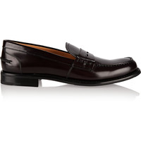 Church's - Sally glossed-leather loafers