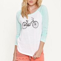 Billabong Bicycle Raglan Tee