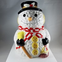 Snowman Cookie Jar (914)