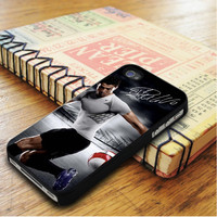 Cristiano Ronaldo Signed Real Madrid CF FIFA World Player of the Year Ballon   For iPhone 5C Cases   Free Shipping   AH0404