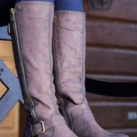 De Blossom Collection Pita Riding Boots in Brown PITA-40-BRN