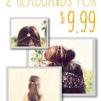Sweet Bags 2 Headband Pieces for 9.99, Grab Bags, Surprise Bag