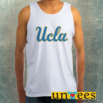 Ucla Logo Clothing Tank Top For Mens