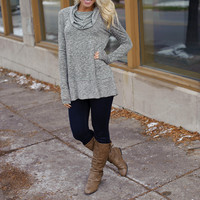 The Lucky One Tunic (Olive) - Piace Boutique