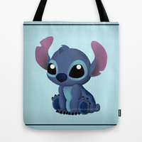 Chibi Stitch Tote Bag by Katie Simpson   Society6