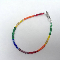 Rainbow Bracelet Benefits the Human Rights Campaign