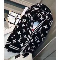 LV Louis Vuitton Sakura Fashion Accessories Scarf Shawl Scarfc