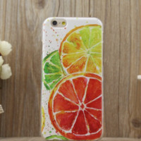 Cute Lemon Fruits Case for iPhone