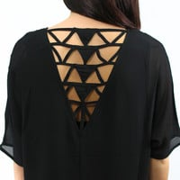 Taking Shape Top - Black