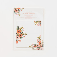 Dusty Rose Place Cards
