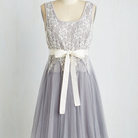 Mid-length Sleeveless Fit & Flare Happily Ever Afternoon Dress