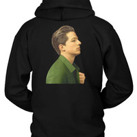 Charlie Puth Photo From Beside Hoodie Two Sided
