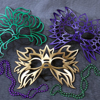 Mardi Gras Masks Special Totem Electro Decaflor by TomBanwell