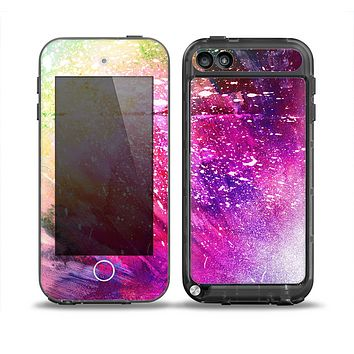 The Abstract Neon Paint Explosion Skin for the iPod Touch 5th Generation frē LifeProof Case