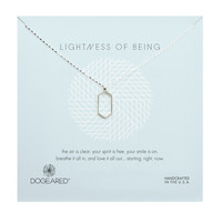 Lightness of Being Air Hexagon Necklace, Sterling Silver | Dogeared