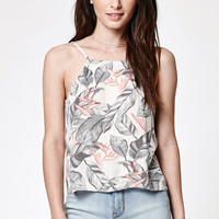 Kendall and Kylie Low Back Printed Cami Tank Top at PacSun.com