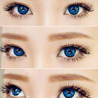 EOS Dollyeye Blue Cosmetic Contact Lenses | EyeCandy's