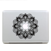 macbook decal macbook pro decals macbook air decal skin macbook pro decal macbook decals sticker Vinyl mac decals Apple Mac Decal - Flower