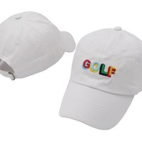 Tyler The Creator Golf Hat Tyler Gregory Dad Hat 100% Cotton Casquette Bone Gorras Baseball Cap Men and Women casual