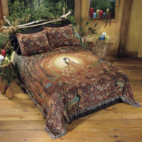Summers Cauldron Bedspread - New Age, Spiritual Gifts, Yoga, Wicca, Gothic, Reiki, Celtic, Crystal, Tarot at Pyramid Collection