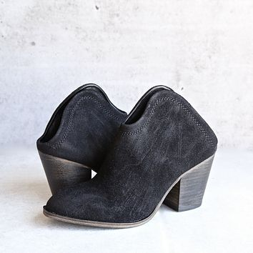 Final Sale - Chinese Laundry - Kelso Open Back Bootie (Women's) in More Colors
