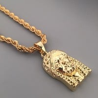 Shiny New Arrival Stylish Jewelry Gift Hot Sale Hip-hop Club Necklace [6542721091]