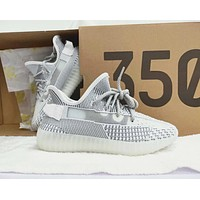 Adidas Yeezy Boost 350 V2 Static Fashionable Casual Sport Running Shoes Sneaker