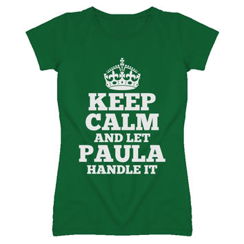 Youth Keep Calm and Let Paula Handle it T-Shirt