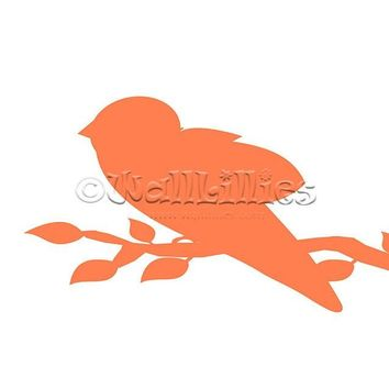 Bird on a Branch Decal