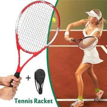 Carbon Fiber Tennis Racket Equipped with Bag