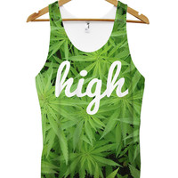 High cannabis all over vest