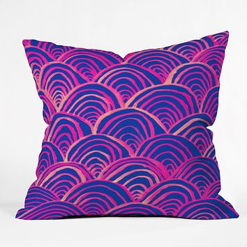 Rebecca Allen All Your Breakers Throw Pillow